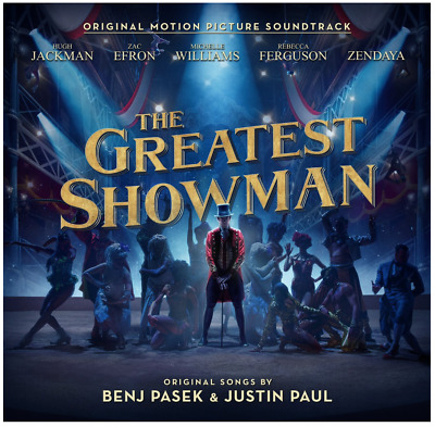 The Greatest Showman (CD) • NEW • Soundtrack, Hugh Jackman, Zac Efron, PT Barnum