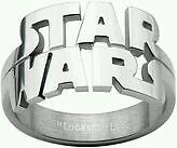 Officially licensed star wars jewelry ring stainless steel with box