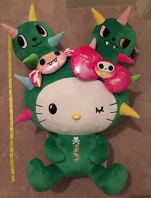 Brand New Sanrio Hello Kitty Tokidoki Cactus Plush 24""