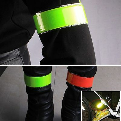 Night Reflective Wrist Band Arm Ankle Belt Strap Cycling Running Sports Proper