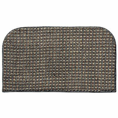 Garland Rug Berber Colorations Kitchen Slice Rug 18-Inch by 30-Inch Grey