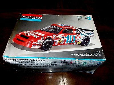 MONOGRAM CHEVY PUROLATOR LUMINA #10 PUROLATOR 1/24 Scale #2941
