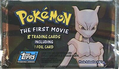 Pokemon Topps First Movie Booster Pack