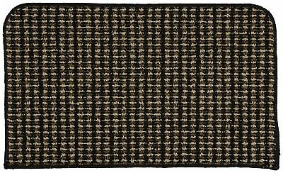Garland Rug Berber Colorations Kitchen Slice Rug 18-Inch by 30-Inch Black