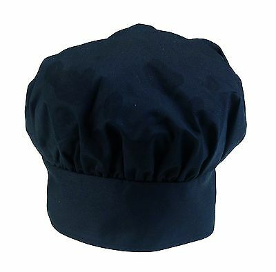 Ritz Pro Series Adjustable Black Chef's Hat One Size Fits All