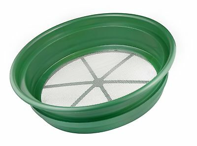 """SE GP2-112 Patented Stackable 13-1/4"""" Sifting Pan Mesh Size 1/12"""" 1/12 inches"""