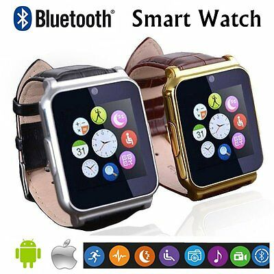 W90 Waterproof Bluetooth Smart Watch Phone Mate For Android IOS iPhone Samsung