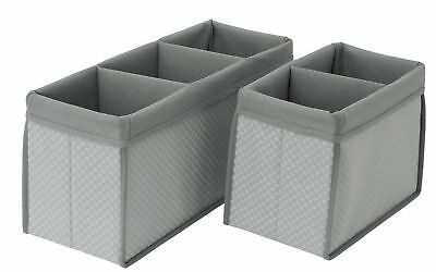 Delta Children 2 Piece Nursery Organizer Set Dove Grey