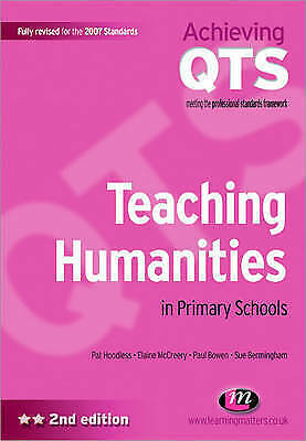 Teaching Humanities in Primary Schools (Achieving Qts)-ExLibrary