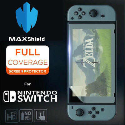 TAGGSHIELD Nintendo Switch Premium HD Invisible Clear Shield Screen Protector
