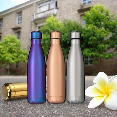 Creative Water Bottle Bowling Shaped Stainless Steel Vacuum Insulation Bottle GW