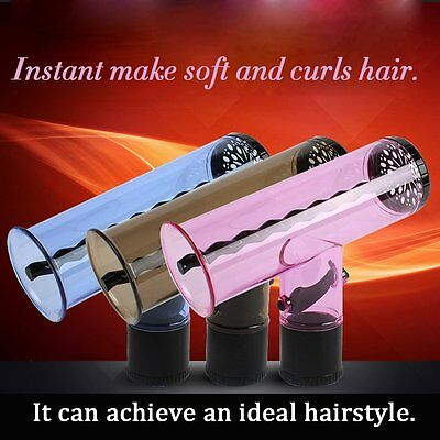 Professional Hair Curling Electric Hair Dryer Hair Curler Barrel With Rod GW