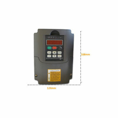 New Variable Frequency Drive HY series VFD Inverter 2.2KW 4HP 220V SVPWM