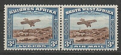 South West Africa 1931 Airmail 3D Pair
