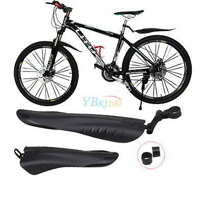 Cycling Mountain Road Bike Bicycle Front Rear Mudguard Fender Set Mud Guard LJ