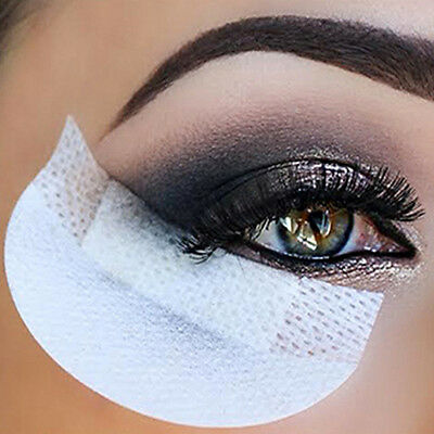 New 20Pcs Eye Shadow Shields Eyelash Pad Under Eye Stickers Makeup Supplies cn