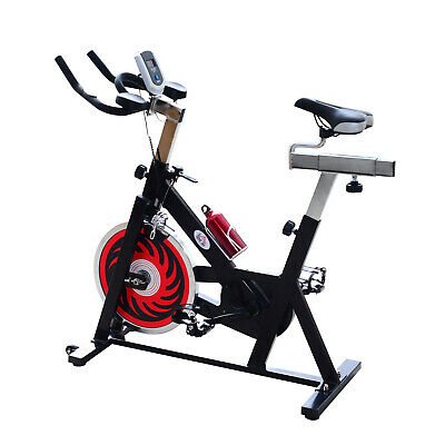 HOMCOM - Cyclette per Spinning Professionale Training Cardio Bike