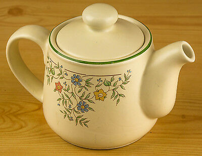 British Home Stores Tea Pot Country Garland Pattern