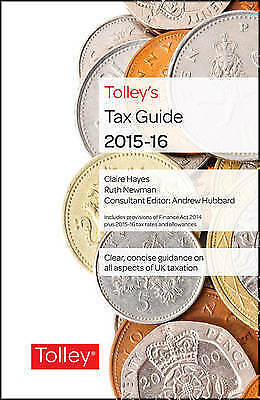 Tolley's Tax Guide 2015-16-ExLibrary