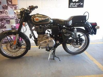 Royal Enfield Bullet 500 EFI  2017 Euro 4 In Forest Green
