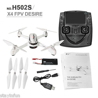 New Hubsan X4 H502S 5.8G FPV GPS Altitude Mode RC Quadcopter with 720P Camera`