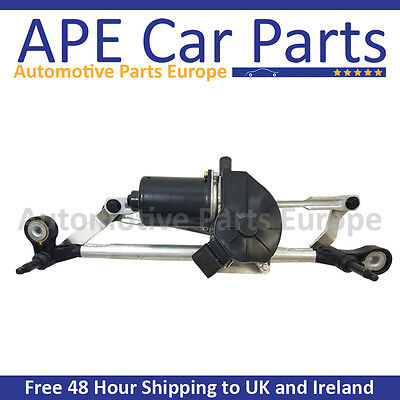 Vauxhall Corsa D 2006-2014 Front Wiper Motor & Linkage 13372899 13432686