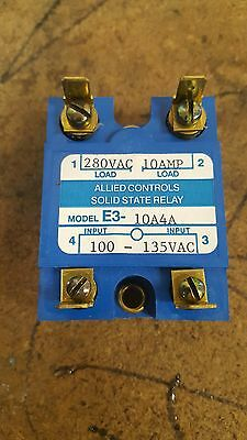 New Allied Controls solid state relay part # E3-10A-4A
