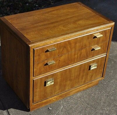 Vintage 60s Drexel Heritage Consensus Mid Century Modern Nightstand Side Table