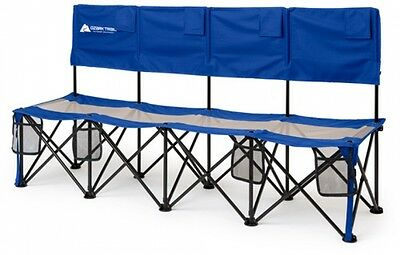 Folding-Camping-Tournaments-Soccer-Picnic-4-Person-Convertible-Bench-Chair-Seat