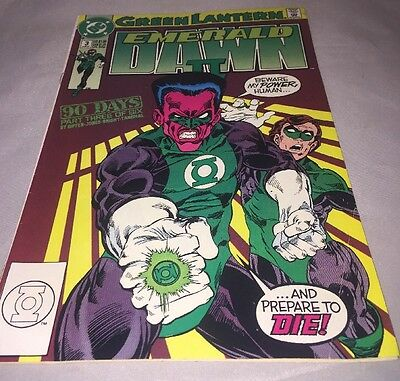 Green Lantern Emerald Dawn II #3 June 1991 DC Comics