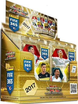 Box Panini Adrenalyn Xl Fifa 365 2017 (50 X Booster)