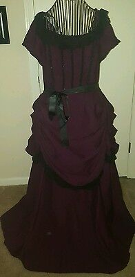 Victorian/Gothic Purple Dress~Costume