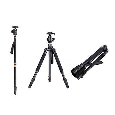 Q999 Pro Tripod Monopod With Ball Head Detachable Traveling for Camera Camcorder