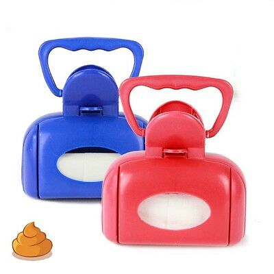 Plastic Pet Poop Scooper Dog Scoop Toilet Tool Toilet x 1