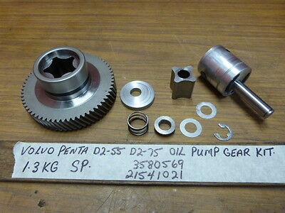 $265.00 USD Volvo Penta D2-55 D2-75 Oil Pump Gear Kit 3580569, 21541021