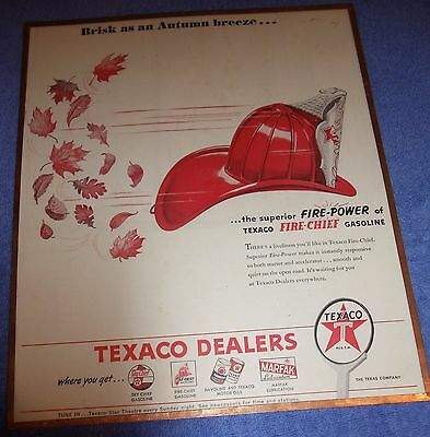 Texaco Fire Chief Advertising