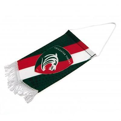 Leicester Tigers Rugby Union Club Car Mini Pennant Official Product Pennent