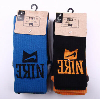 Boys Nike 3-Pack Engineered For World Class Athletes Crew Socks YOUTH 3-5Y,5-7Y