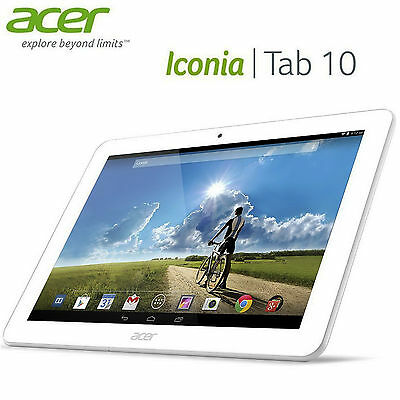 Tablet Acer Iconia Tab 10 A3-A20 HD 16 GB Blanco Usada | C