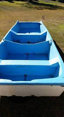 Fibreglass Punt - 4.2 M Long , 1.4 Wide - Used