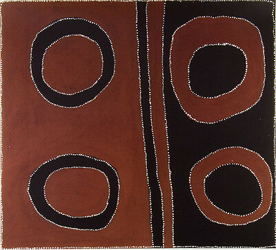 Paddy BEDFORD - 'Old Bedford'- Australian Aboriginal Art - Reproduction Print