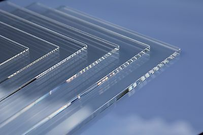 Clear Acrylic Sheet A1,A2,A3,A4,A5,A6, Custom Cut to Size Panels Plastic Panel