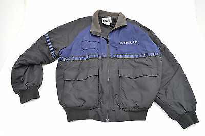 Delta Airlines Thinsulate Reflective Quilted Waterproof Jacket Coat  Cintas XL