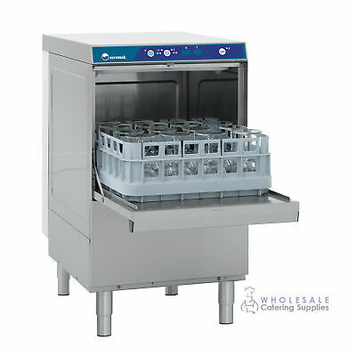 Undercounter Glasswasher Eurowash EW340 Glass Washer Glasses Washing Kitchen Bar