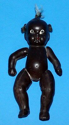 Vintage Japan Bisque Doll - Black Americana
