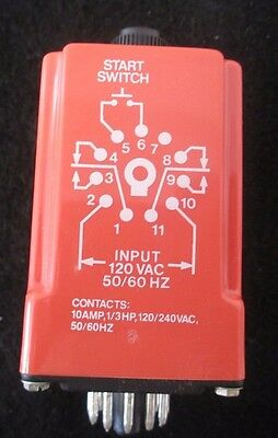 NCC Solid State Timer T3K-10-461 - .1 to 10 Seconds - Used
