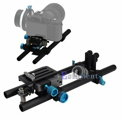 FOTGA DP500III Quick Release 15mm Rod Baseplate Support Rig Camera Follow Focus