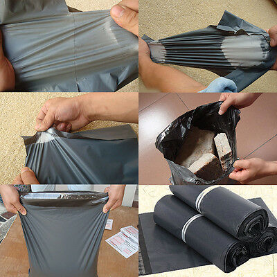 25*35cm 10Pcs Poly Mailers Shipping Plastic Mailing Bags Envelopes Self Sealing