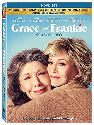 Grace And Frankie: Season 2 Dvd - The Complete Second Season [3 Discs] - New
