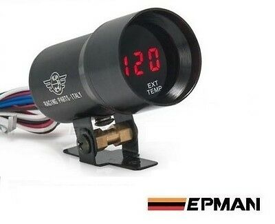 EXHAUST TEMP 37mm Digital LED Gauge *EGT 4WD Landcruiser Ranger Navara Amarok*